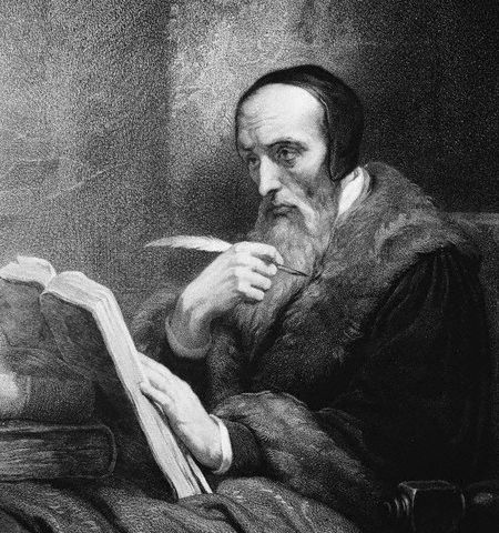John Calvin  born 10 July 1509 - 500th Anniversary